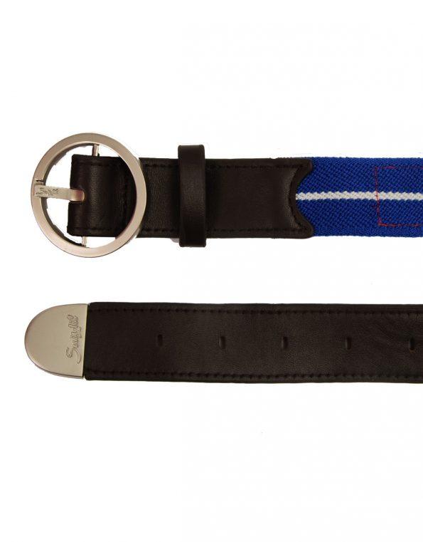 Suixtil Men's Avus Leather & Elasticated Cotton Belts, America