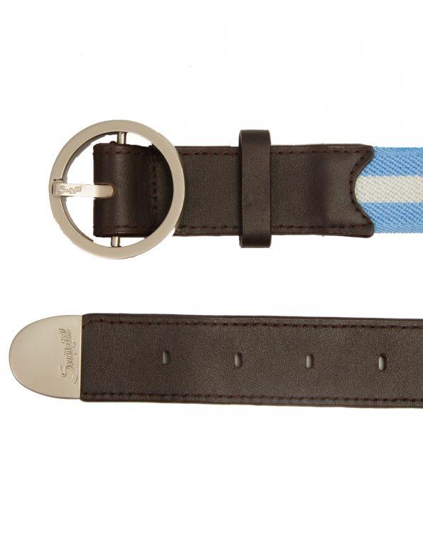 Suixtil Men's Avus Leather & Elasticated Cotton Belts, Argentina
