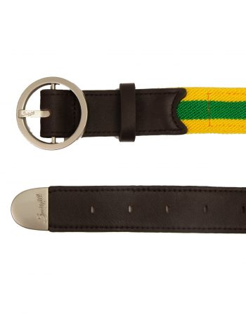 AVUS Leather & elasticated cotton belt – Brazil (3)