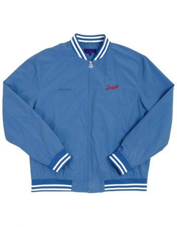 Barcelona Bomber Jacket – Force Blue – web1