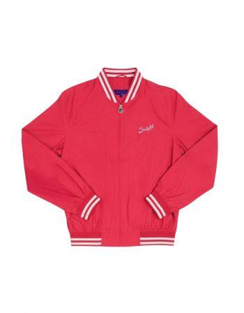 Barcelona summer bomber jacket – faded red (1)
