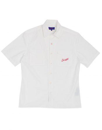 Brescia Race Shirt – Pure White – 100% cotton popelin – web1