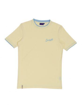 Cuba tshirt – 100% PIMA cotton – 2tone Yellow (3)