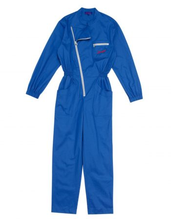 Mechanic overalls – 100% cotton – French blue (4)