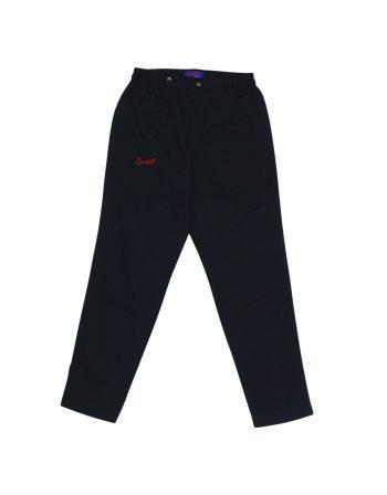 Modena pants – 100% cotton twill – Navy blue (1) (WEB)