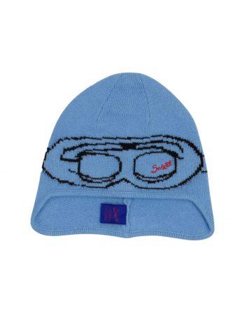 The Suixtil Bonnet – Lambswool & Cashmere – Argentine blue (1) (WEB)