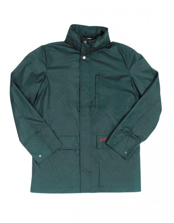 Suixtil Men's Zandvoort Rain Jacket, British Racing Green