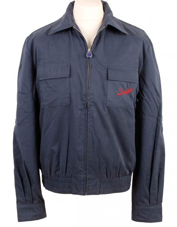 Suixtil Men's Monaco Bomber Jacket, Vintage Blue