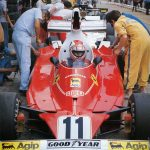 Ferrari, Regazzoni, Borsari, 312T