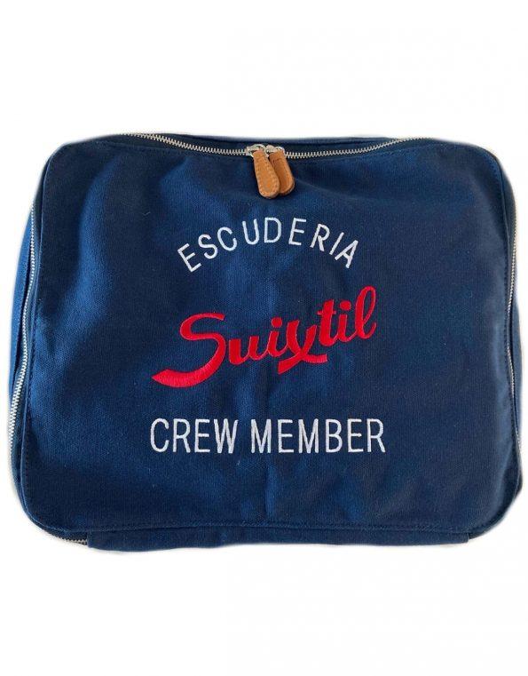 Suixtil navy blue touring bag