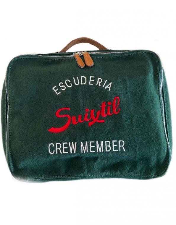Suixtil deep green touring bag