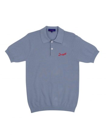 Nassau polo – 100% PIMA cotton – light blue – (2)