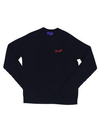 Raticosa sweater – Wool & Cashmere – Navy blue (3) (WEB)
