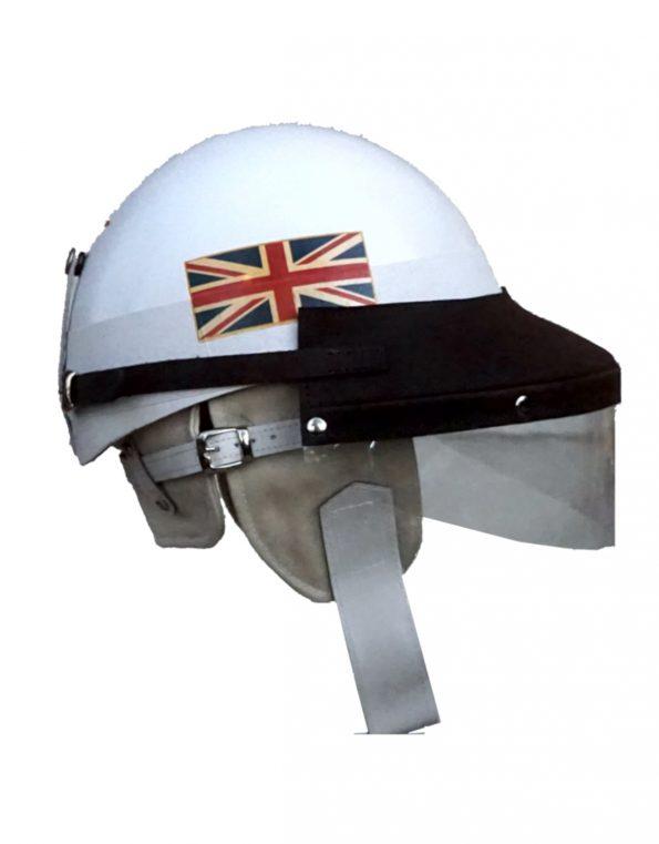 The Customized El Chico Helmet & Guard Visor set