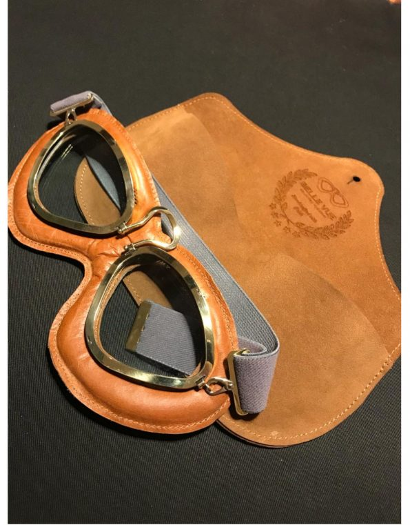 The Belle Vue goggles – Brown