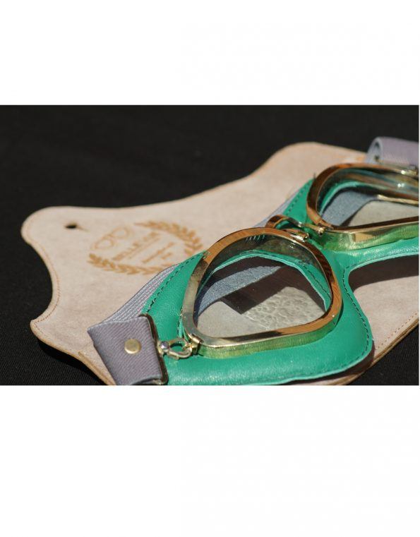 The Belle Vue goggles – British Racing Green