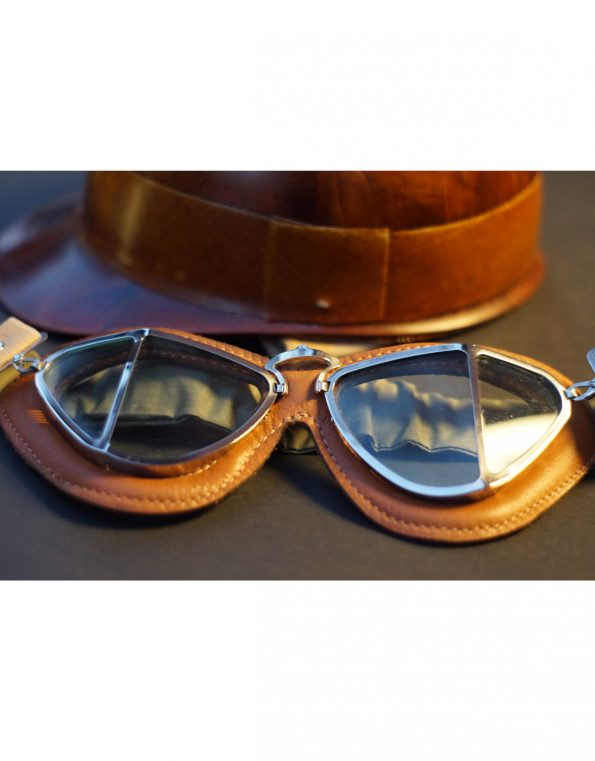 The Belle Vue 50s' goggles – Brown & Black
