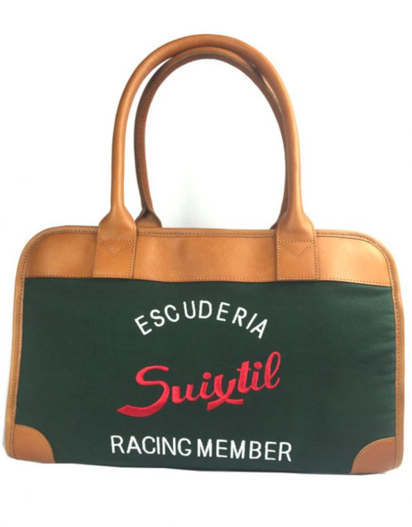 Track helmet bag – British Racing Green